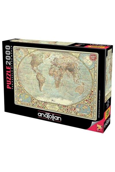 3935 Dünya Haritası 2000 Parça