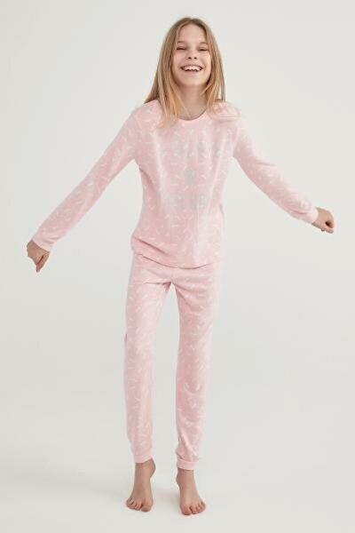 Orchıd Teen Unicorn Termal 2li Pijama Takımı