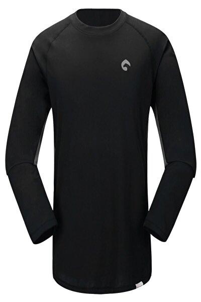 Kivu Erkek T-shirt Siyah/gri