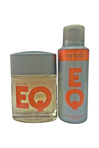 Eq Edt 100 Ml + Deo Sprey 150 Ml Erkek Parfüm Seti