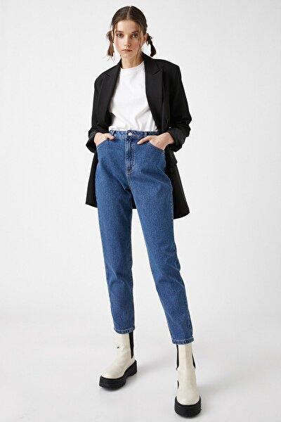 Kadın Orta İndigo Jeans 1YAK47979MD
