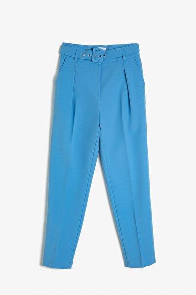 Kadın Mavi Arzu Sabancı For Pantolon
