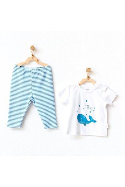 Andywawa Ac21543 Cute Whale 2li Bebek Takım White