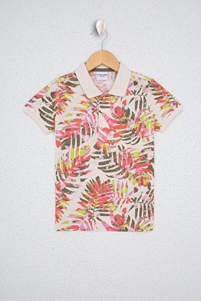 Turuncu Erkek Çocuk T-Shirt