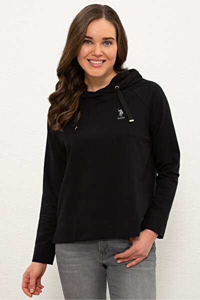 Sıyah Kadın Sweatshirt