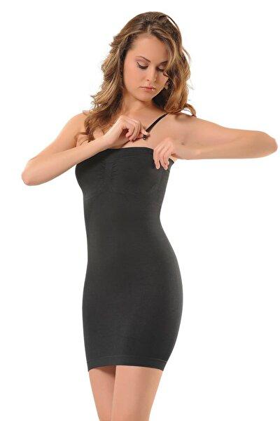 Kadın Siyah Elbise Korse
