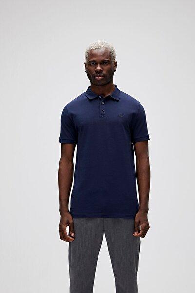 Erkek Mavi Stark Navy Polo Yaka T-shirt