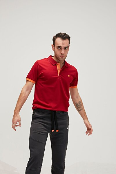 Rım Pıque Polo Red