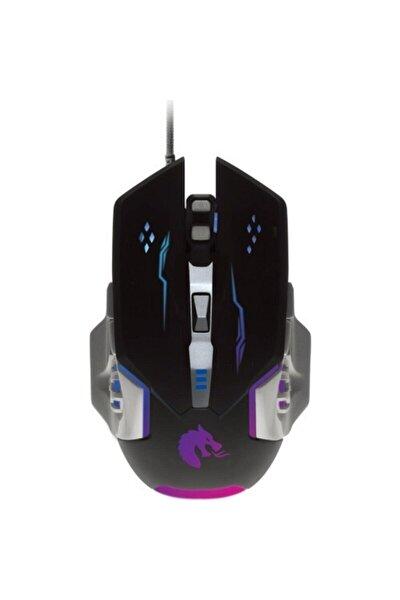 Pgm03 Led Işıklı Oyuncu Mouse + Mousepad