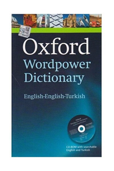 Oxford Wordpower Dictionary (ENGLİSH-ENGLİSH-TURKİSH)