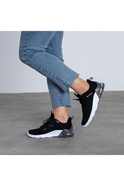 100497038 Daisy Siyah Tekstil Phylon Taban Hafif Rahat Unısex Sneakers