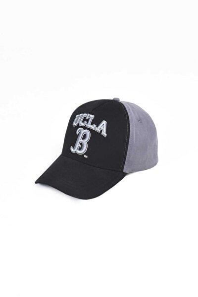 Malıbu Siyah Baseball Cap Nakışlı Şapka
