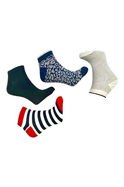 Kadın Patik Çorap 4'lü 36-40 Bt-0205