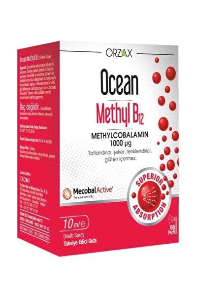 Ocean Methyl B12 Dilaltı Sprey 10 ml 1000 ?g