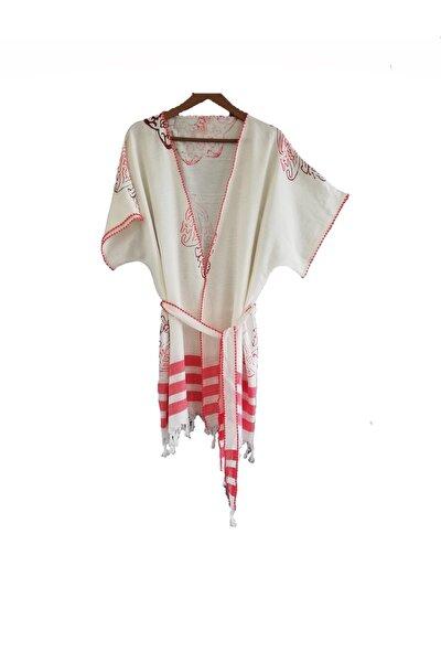 Kadın Kırmızı Kimono
