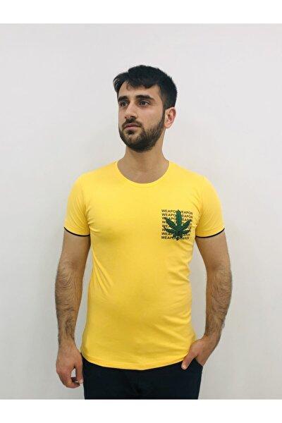 Erkek Sarı Tişört