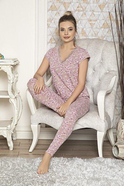 Kısa Kollu Taytlı Pijama