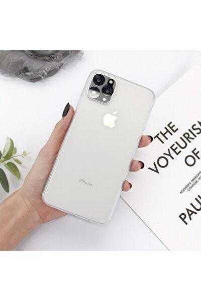 Iphone 11 Pro Kamera Korumalı Ultra Ince Sert 0,3 Mm Pp Kapak