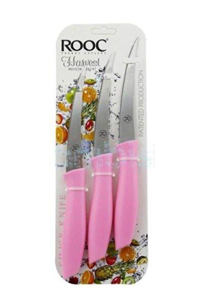 Lazer Kesim Meyve Sebze Bıçağı 3'lü