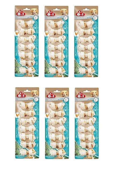 Delight Bones 7 Li Xs Pro Dental Köpek Ödül Kemiği 6 Lı Set