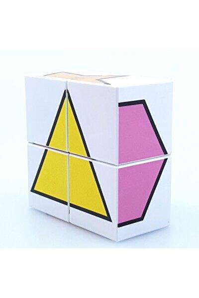 Manyetik Puzzle Şekiller - 4 Küp