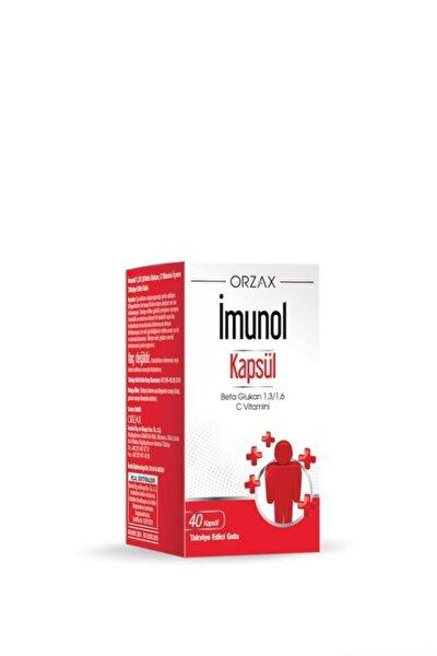 Imunol Güçlü Formül 40 Kapsül
