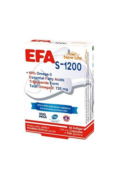 Newlife Efa Omega3 S-1200 45 Kapsül