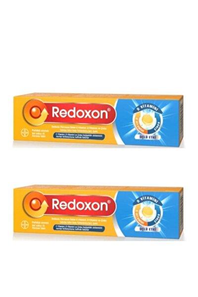 Üçlü Etki C Vitamini D Vitamini Çinko Efervesan 15 Tablet - 2 Kutu