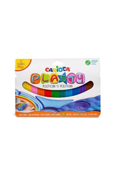 Plasty Kurumayan Oyun Hamuru 12 Renk - 150 gr