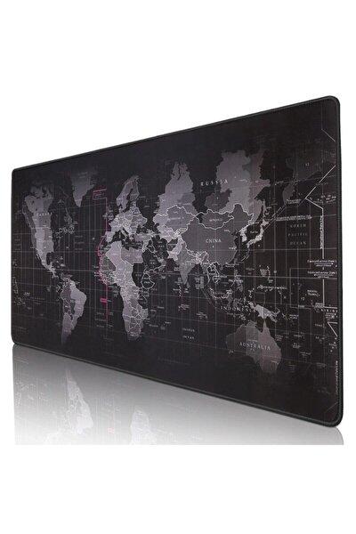 Dünya Haritalı Mouse Pad 90x40 cm