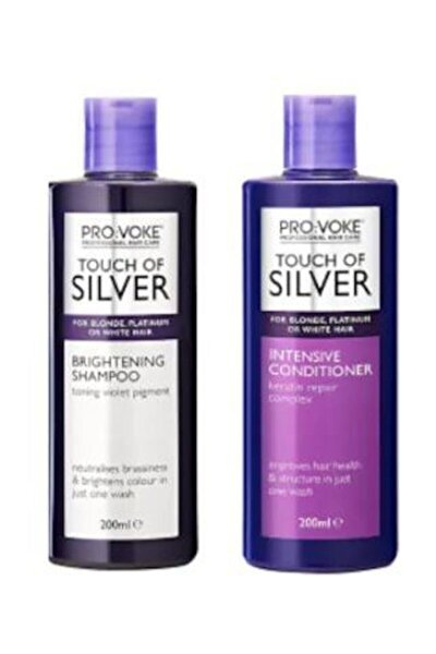 Silver Mor Şampuan + Saç Kremi