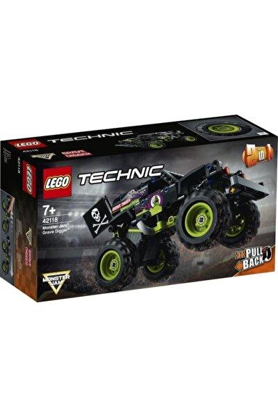Technic 42118 Monster Jam Grave Digger 212 Parça 7 Yaş