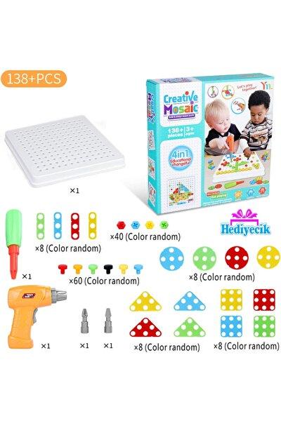 3d Matkaplı Creative Puzzle 11b Mozaik Puzzle 138 Parça