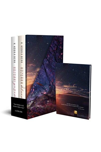 Kübra Berk 2 Kitap Kutulu Defterli Set Ciltli- Rüzgarı Yaşamak - Rüzgara Dokunmak