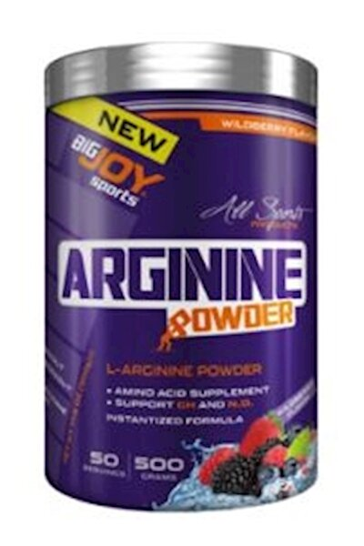 Bigjoy Sports Arginine Powder Orman Meyveli 500g