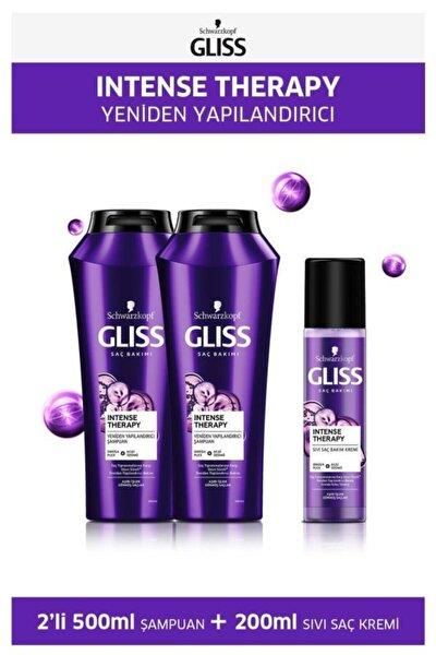 Intense Therapy Şampuan 500 Ml X 2 Adet + Sıvı Saç Kremi 200 Ml