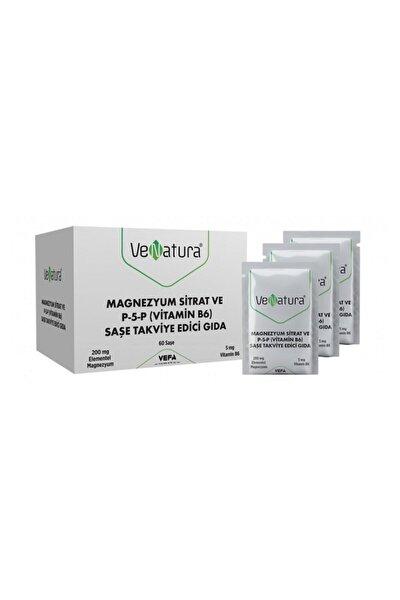 Magnezyum Sitrat Ve P-5-p (Vitamin B6) Saşe