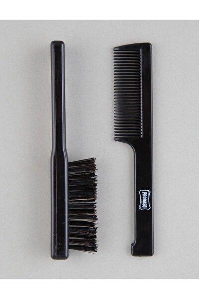 Comb Brush Bıyık Fırçası Ve Tarağı