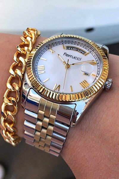 Kadın Çelik Kordon Gümüş Kol Saati