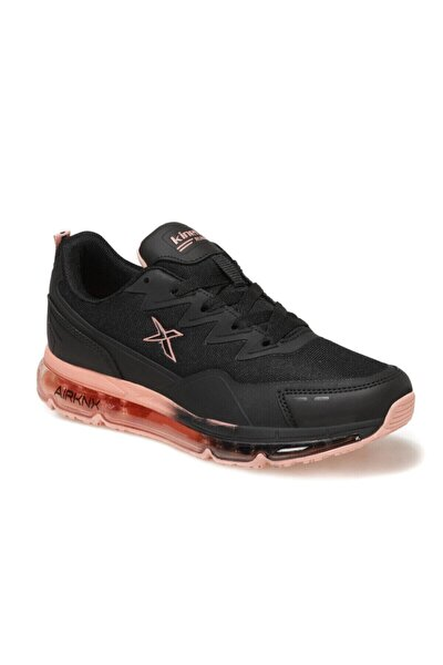 Kadın Sneaker Spor Ayakkabı Siyah-narçiçeği Sabion W