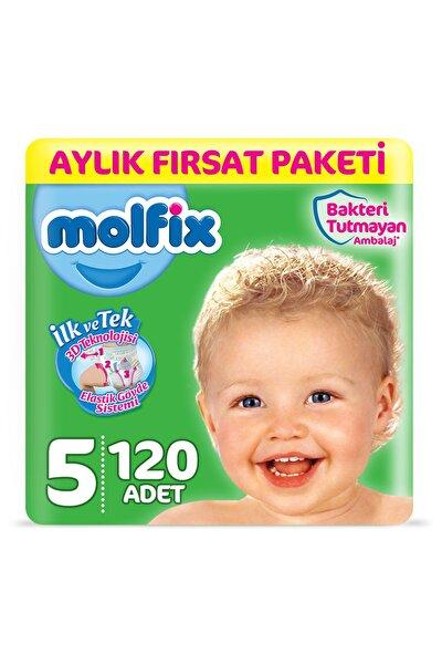 Bebek Bezi 5 Beden Junior Aylık Fırsat Paketi 120 Adet