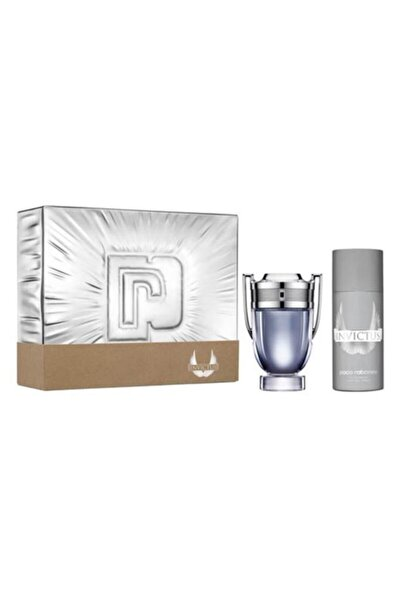 Invictus Edt 100 ml Erkek Parfüm  ve  Deodorant 150 ml 3349668582716