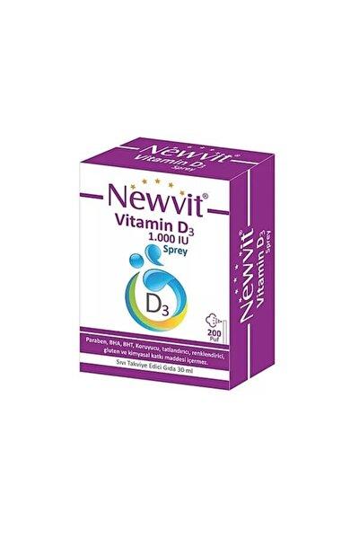 Newvit Vitamin D3 1000 Iu 30 Ml. Tett: 2023