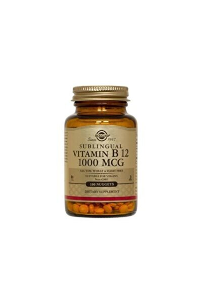 Vitamin B12 1000 Mcg - 100 Tablet