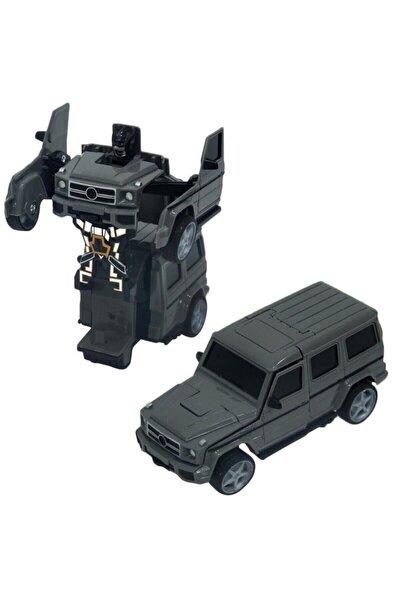 Sesli ve Işıklı Robota Dönüşen Jeep