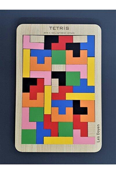 Eğitici Ahşap Tetris Oyunu Bul Tak