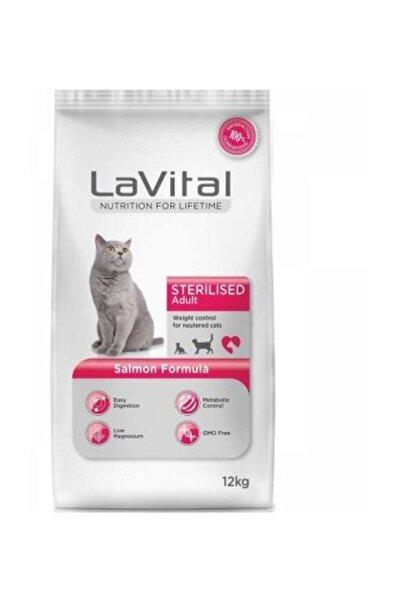 Adult Sterilsed Somonlu  Kısırlaştırılmış Yetişkin Kuru Kedi Maması  12 Kg