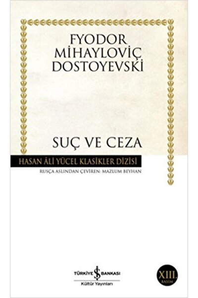 Suç Ve Ceza Ciltsiz- Fyodor Mihailoviç Dostoyevski
