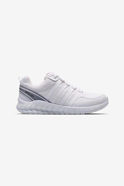 Unisex Beyaz Bağcıklı Flex Legend Sneaker Ayakkabı