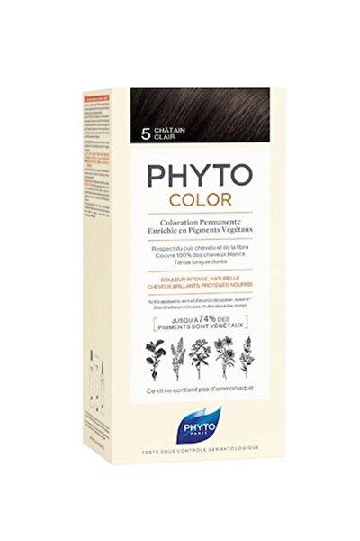 Color 5 Açık Kestane Saç Boyası Yeni Seri